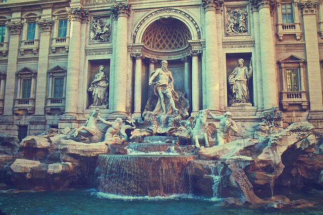 trevi-fountain-498462_640